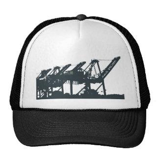 El puerto Harbror Cranes el gorra