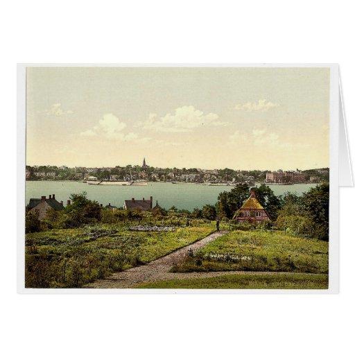 El puerto, I., Kiel, Schleswig-Holstein, Alemania Tarjetón