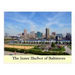 El puerto interno de Baltimore Postales