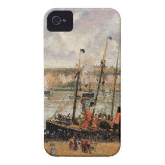 El puerto interno, Dpeppe, alta marea, mañana, Carcasa Para iPhone 4 De Case-Mate