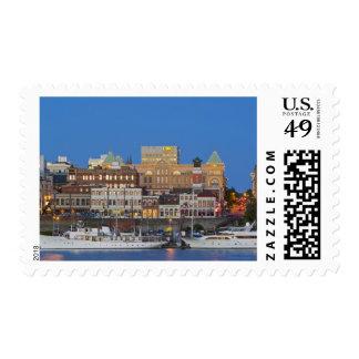 El puerto interno en la Columbia Británica de Sellos Postales