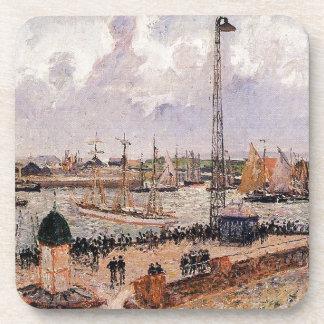El puerto interno, Havre de Camille Pissarro Posavasos