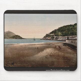 El puerto, vintage Photochro de San Sebastián, Esp Tapetes De Raton