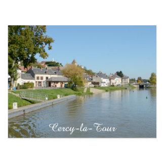 El puerto y la esclusa, Cercy-la-Viaje Postales
