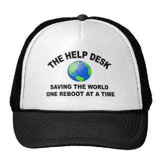 El puesto de informaciones - ahorro del mundo gorro de camionero
