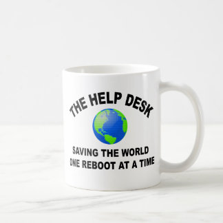El puesto de informaciones - ahorro del mundo taza básica blanca