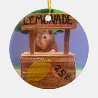 El puesto de limonadas de Baloo Adorno Navideño Redondo De Cerámica