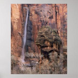 El púlpito y la cascada efímera 2 impresiones