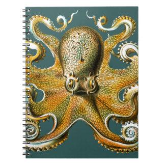 El pulpo de Ernst Haeckel Libretas Espirales
