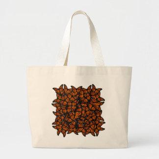 El pulular de las mariposas de monarca bolsa tela grande