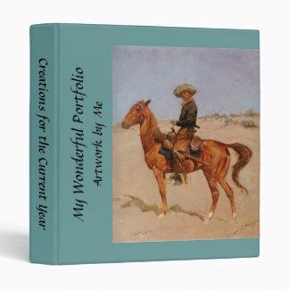 "El Puncher de Federico Remington (1895) Carpeta 1"""