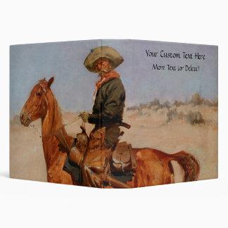 "El Puncher de Federico Remington (1895) Carpeta 1 1/2"""