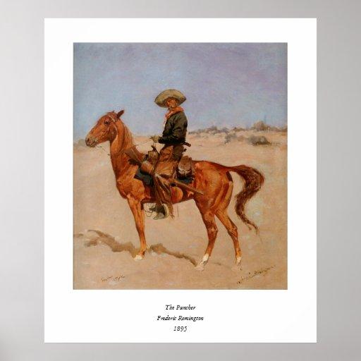 El Puncher de Federico Remington (1895) Impresiones