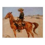 El Puncher de Federico Remington (1895) Postal