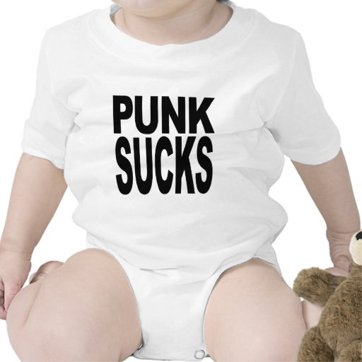 El punk chupa trajes de bebé