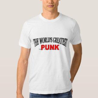 El punk más grande del mundo camisas