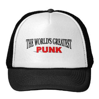 El punk más grande del mundo gorros bordados