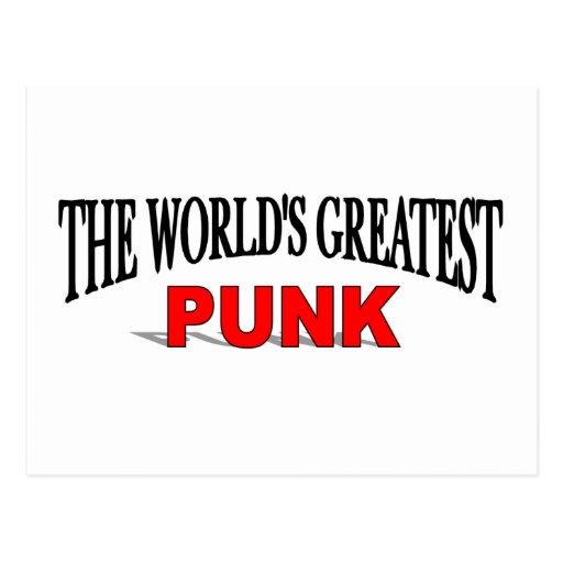 El punk más grande del mundo tarjetas postales