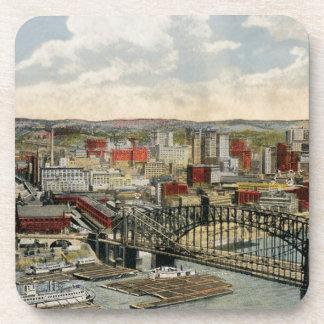 El punto 1931 de Pittsburgh Posavasos