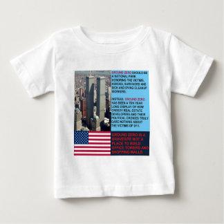 El punto cero es un Gravesite no una alameda de Camisas