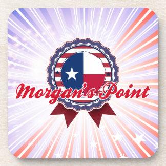 El punto de Morgan, TX Posavasos De Bebida