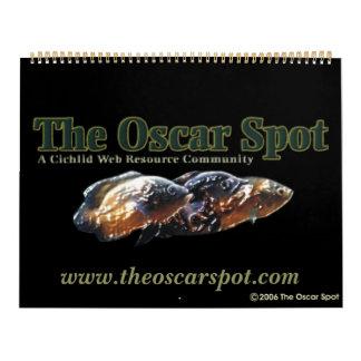 El punto de Óscar Calendario De Pared