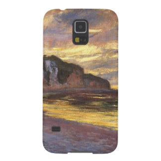 El punto del aliado, marea baja - Claude Monet Funda Para Galaxy S5