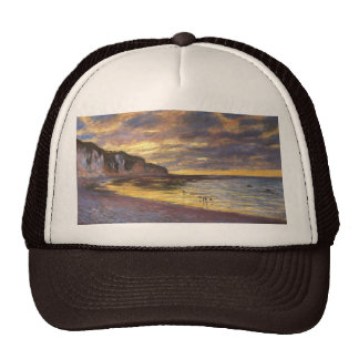 El punto del aliado, marea baja - Claude Monet Gorro
