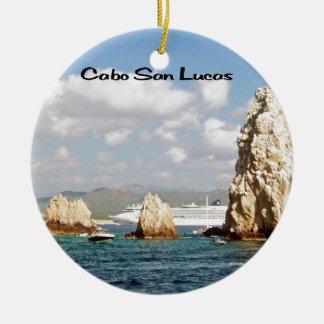 El punto en Cabo San Lucas Ornamento Para Reyes Magos