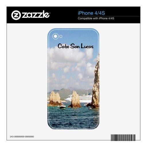 El punto en Cabo San Lucas iPhone 4 Calcomanía