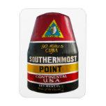 El punto más situado más al sur Key West Imanes De Vinilo