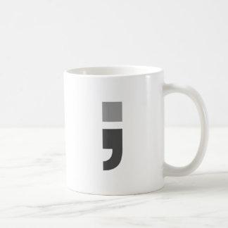 El punto y coma versátil taza clásica