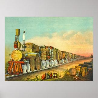 El puré amargo expresa 1877 posters