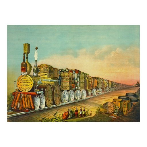 El puré amargo expresa 1877 póster