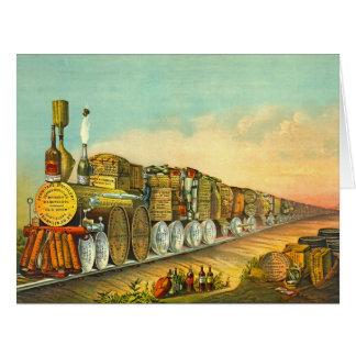 El puré amargo expresa 1877 tarjeton