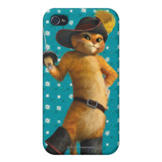 El Puss del CG agita la espada iPhone 4 Protectores