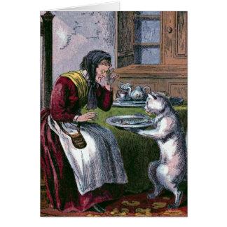 El Puss trae un ejemplo de libro del vintage de Tarjeton