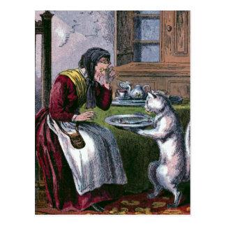 El Puss trae un ejemplo de libro del vintage de Postales