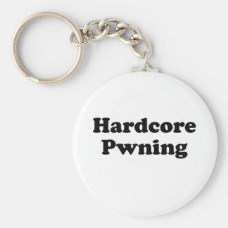 El pwning incondicional llavero redondo tipo pin