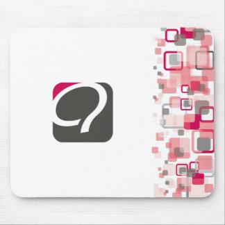 El Q Mousepad - frambuesa