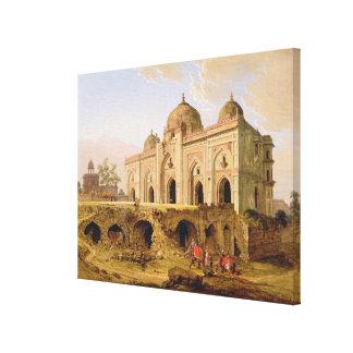 El Qal A-l-Kuhna Masjid, Purana Qila, Delhi, c.1 Impresiones En Lona Estiradas