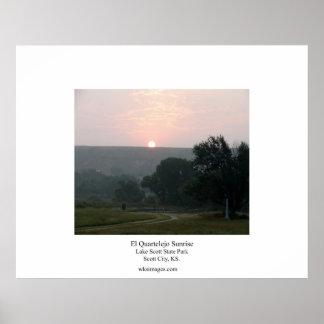 El Quartelejo Sunrise Print