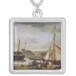 El Quay del comerciante en Ruán, 1834 Grimpolas