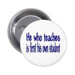 Él que enseña pin