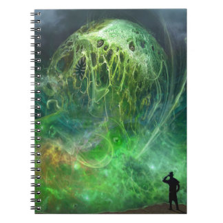 El que no puede ser horror descrito de spiral notebooks
