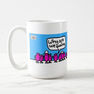 el queing para el té taza de café
