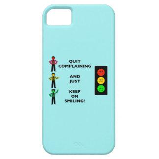 El quejarse abandonado y apenas guarda en la iPhone 5 funda