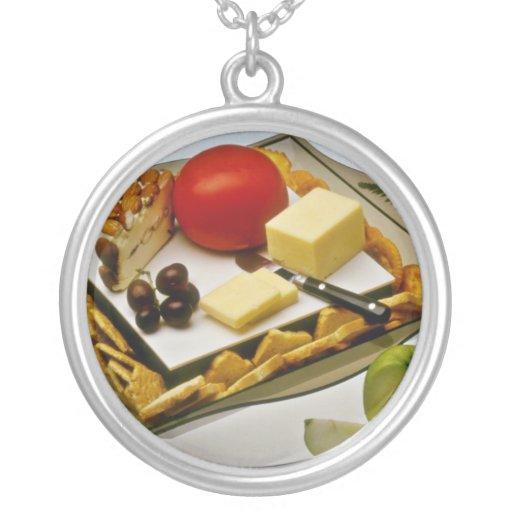 El queso en un disco florece joyerias