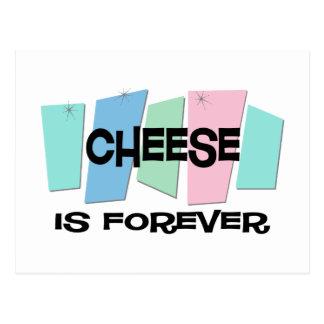 El queso es Forever Postal