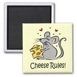 El queso gobierna el imán